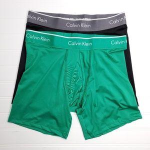 Calvin Klein Men's Microfiber Boxer Brief Sz